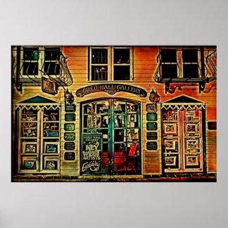 Galería de Key West (diseño de Deco) Póster