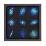 Galería de la galaxia - nueve galaxias espectacula caja de regalo de calidad
