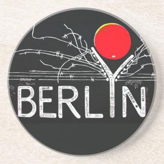 Galería de la zona este, muro de Berlín, alambre d Posavasos Diseño