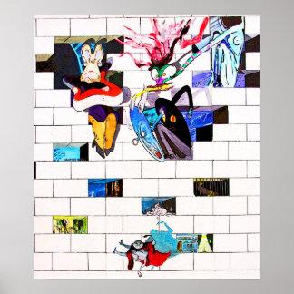 Galería de la zona este, muro de Berlín, arte del  Póster