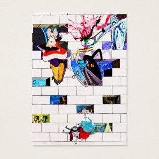 Galería de la zona este, muro de Berlín, arte del Tarjetas De Visita Grandes