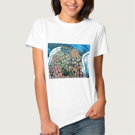 Galería de la zona este, muro de Berlín, escape Tee Shirt