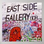 Galería de la zona este, muro de Berlín, pintada Impresiones