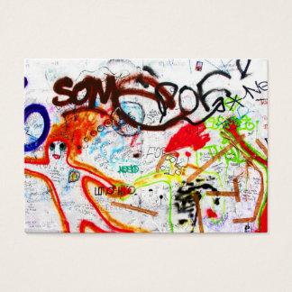 Galería de la zona este, muro de Berlín, pintada Tarjetas De Visita Grandes