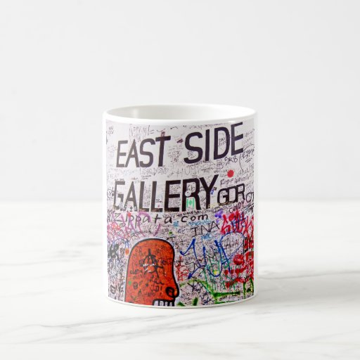 Galería de la zona este, muro de Berlín, pintada Tazas