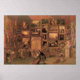 Galería de Samuel Morse del Louvre Póster