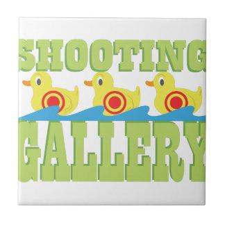Galería de tiroteo azulejo cuadrado pequeño