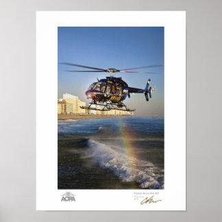Galería de Virginia Beach Bell 407 Póster