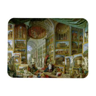 Galería de vistas de Roma antigua, 1758 Imán Flexible