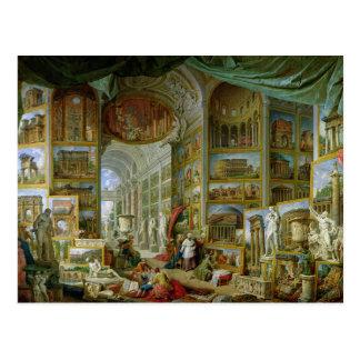 Galería de vistas de Roma antigua, 1758 Tarjetas Postales