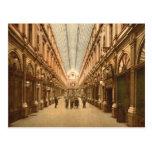 Galería del St. Huberto de Bruselas Bélgica del vi Tarjetas Postales