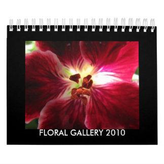 GALERÍA FLORAL 2010 CALENDARIO