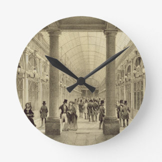 Galerie d'Orleans at the Palais Royal, from 'Paris Round Clock
