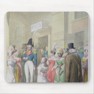 Galeries du Palais-Royal, from 'Tableau de Mouse Pad