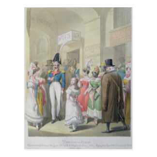 Galeries du Palais-Royal, from 'Tableau de Postcard