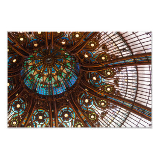 Galeries Lafayette Stained Glass Photo Print