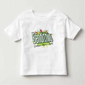 Galés bendijo la camiseta del niño playeras