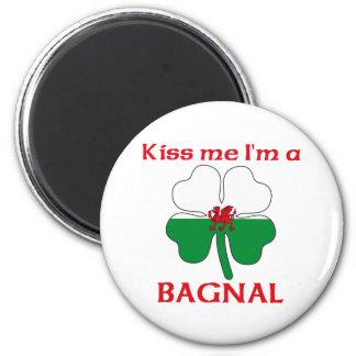 Galés personalizado me besa que soy Bagnal Imán
