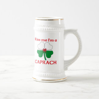 Galés personalizado me besa que soy Caprach Tazas