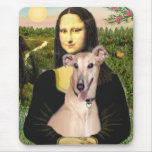 Galgo 2 - Mona Lisa Alfombrilla De Ratón