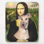Galgo 2 - Mona Lisa Tapetes De Ratones