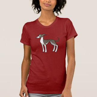 Galgo del dibujo animado/Whippet/galgo italiano Camisetas