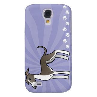 Galgo del dibujo animado/Whippet/galgo italiano Samsung Galaxy S4 Cover