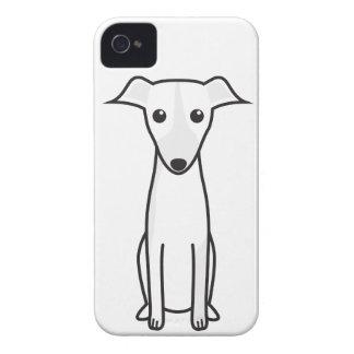 Galgo Español Dog Cartoon Case-Mate iPhone 4 Case