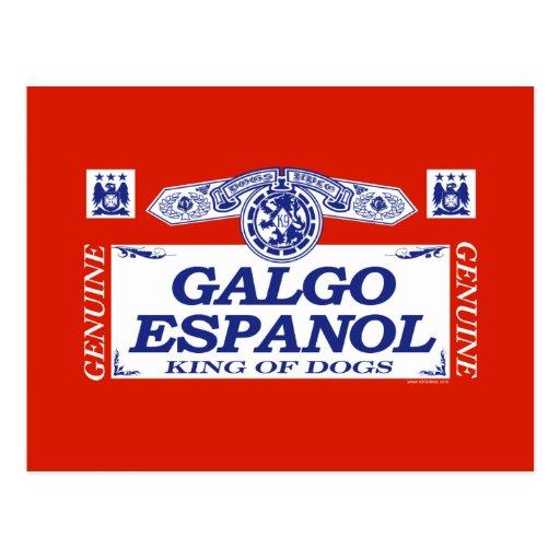 Galgo Espanol Postal