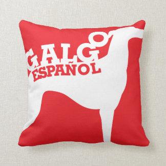 Galgo Español TE QUIERO Throw Pillows