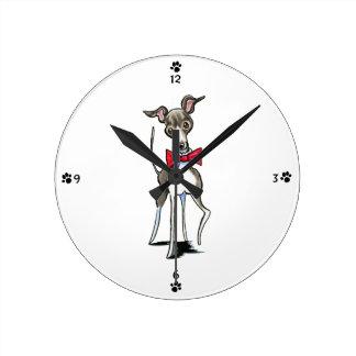 Galgo italiano Antonio Reloj