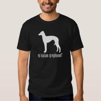 Galgo italiano camisas