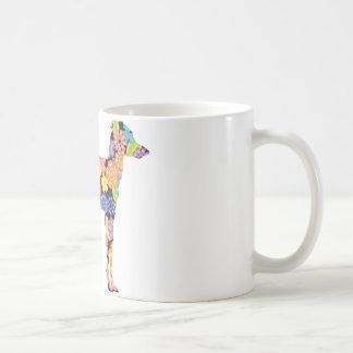 Galgo italiano taza de café