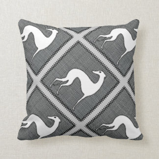 Galgos blancos almohada