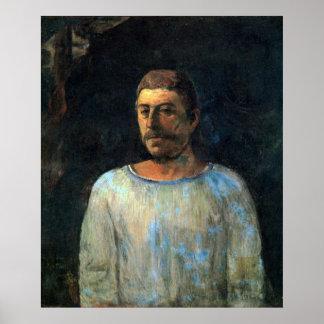 Galgotha de Eugène Enrique Paul Gauguin Póster