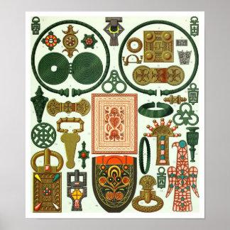 Galia - joyería y bordado posters