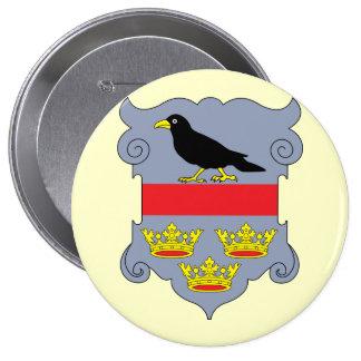 galicia, Austria 4 Inch Round Button