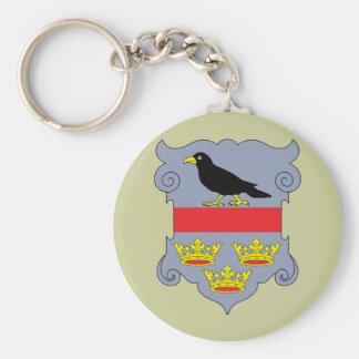 galicia, Austria Basic Round Button Keychain