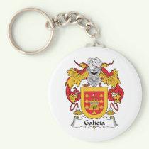 Galicia Family Crest Keychain