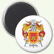 Galicia Family Crest Magnet