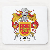 Galicia Family Crest Mousepad
