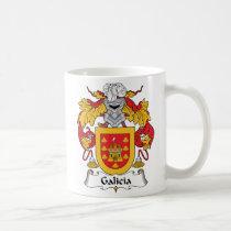 Galicia Family Crest Mug