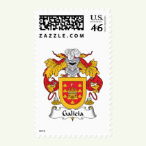 Galicia Family Crest Stamps
