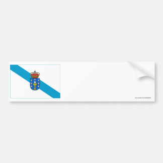 Galicia flag bumper sticker