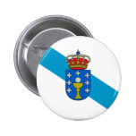 Galicia (Spain) Flag Buttons