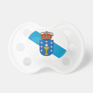 Galicia (Spain) Flag Baby Pacifiers