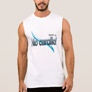 """Galicia t-shirt without sleeves made in """"Not caral"""