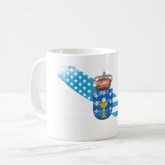 Galician American Flag   Galicia and USA Design Coffee Mug
