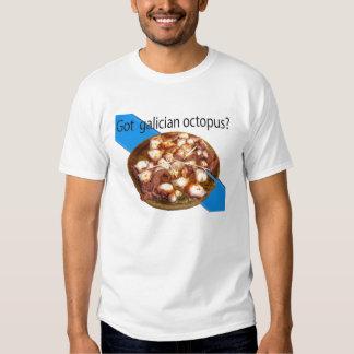 Galician octopus t shirt
