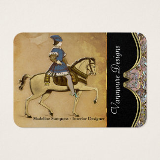 Galient Old World Elegant Professional Business Card
